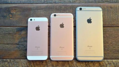 comparativa iphone se, 6s y 6s plus
