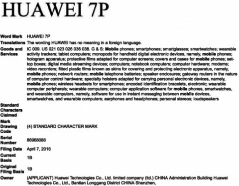 registro huawei 7p