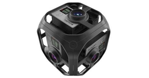 Cámara de realidad virtual de GoPro