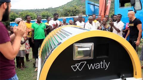 Watly, un ordenador que purifica agua con la energía solar