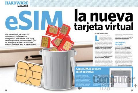 eSIM: la nueva tarjeta