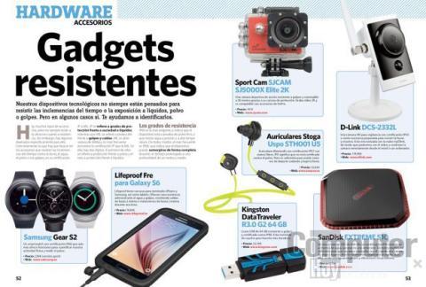 Gadgets resistentes
