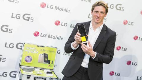 Fernando Torres presenta LG G5 & Friends