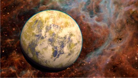 planeta similar a la tierra