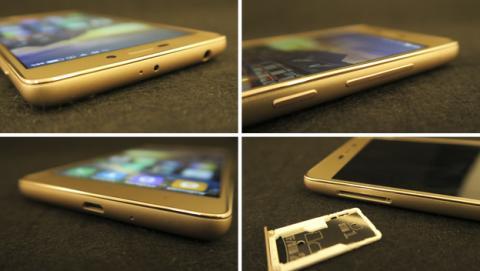 Detalles del diseño del Xiaomi Redmi 3