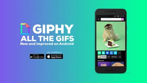Ya puedes buscar y compartir GIF en Android con Giphy