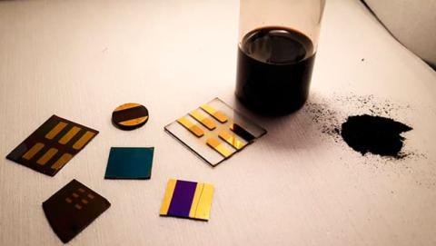 dispositivos electronicos de carbon
