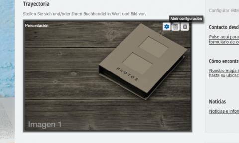 Todas las plantillas que se ofrecen en Strato Mi Web Pro permiten modificar fácilmente su contenido.