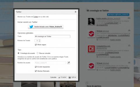 Con los widgets de Strato Mi Web Pro puedes insertar el contenido de las redes sociales en tu página web.