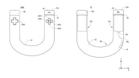 """Nintendo ha patentado un extraño mando con forma de """"U"""""""