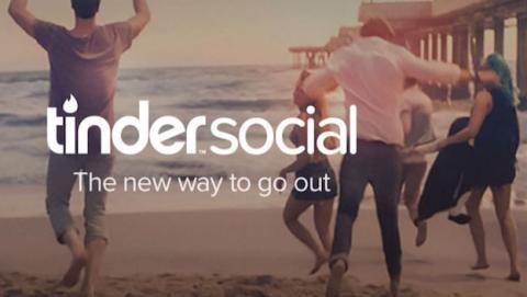 Tinder Social delata a tus amigos de Facebook