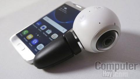 La cámara esférica Samsung Gear 360 llega el 29 de abril