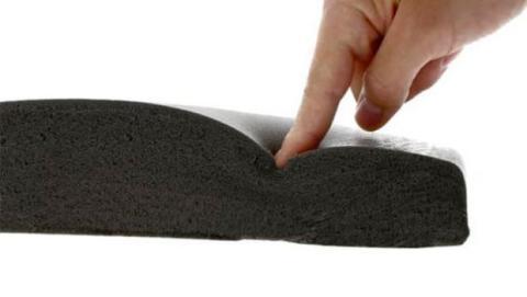 La utilización de respaldos ergonómicos fabricados en espumas viscoelásticas reducen la carga sobre la zona lumbar.