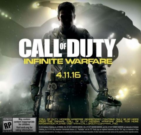 teaser call of duty: infinite warfare