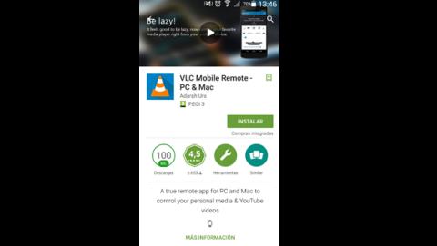 Descargar VLC Mobile Remote para Android