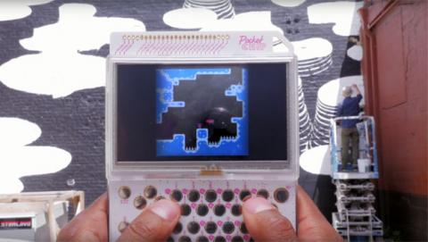 pocketchip consola portatil