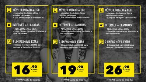 Las mejores tarifas de móvil en Internet