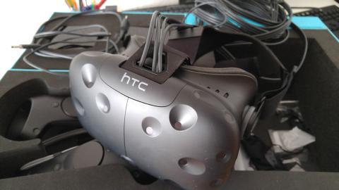Unboxing de las HTC vive