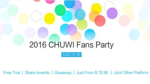 Chuwi celebra su 12 aniversario y te invita a su Fans party