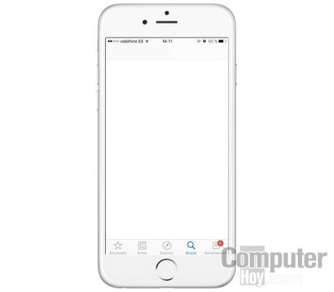 App Store caida