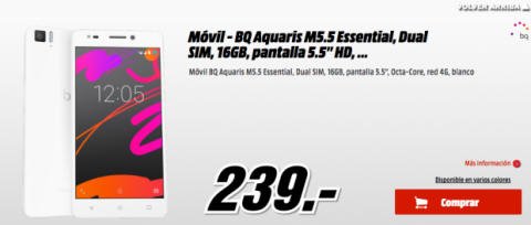 BQ Aquaris M5.5