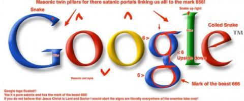 Google logo masónico