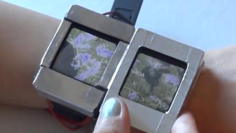 Doppio, el smartwatch de dos pantallas