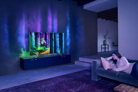 Ambilight en las televisiones Philips