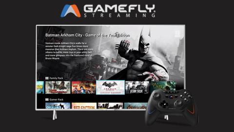 Servicios gamefly en smart TVs Philips
