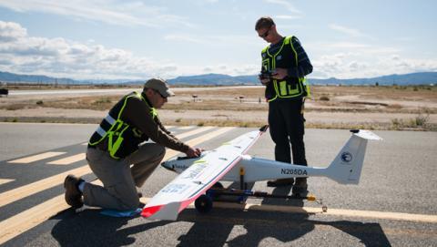 Este dron alimentará a las nubes para provocar lluvia