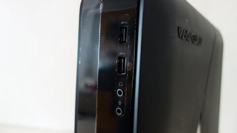 Alienware X51 R3 puertos frontales