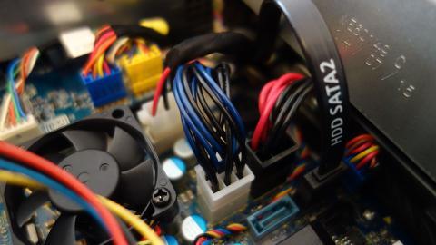 Alienware X51 R3 cableado interior