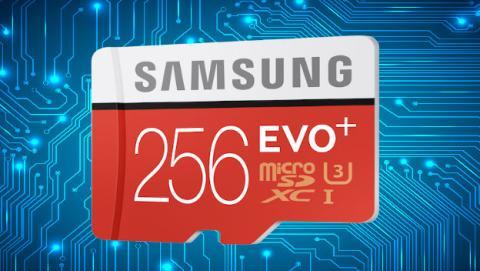 samsung lanza nueva microsd de 256GB