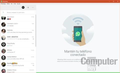 Aplicación de escritorio de WhatsApp
