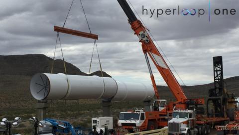 Hyperloop está a punto de llevar a cabo su primera prueba pública