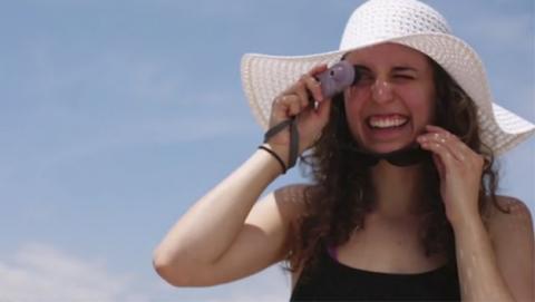 ¿Necesitas aún más protector solar? Esta cámara te lo dirá