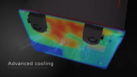 Refrigeración del Acer Predator 15