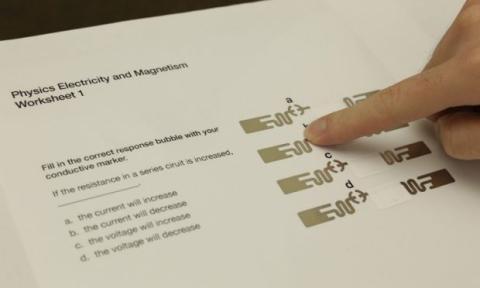 Etiqueta RFID en papel