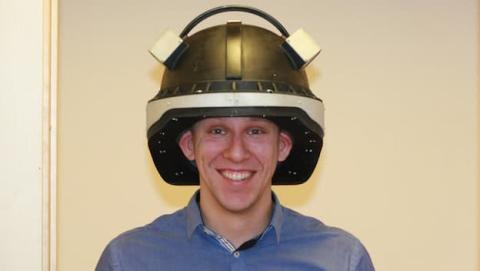 El casco permite detectar contusiones