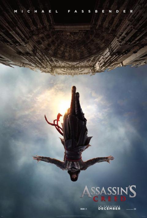 Póster oficial de la película de Assassin's Creed