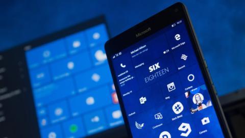 Windows 10 Mobile contará con soporte para lector de huellas dactilares
