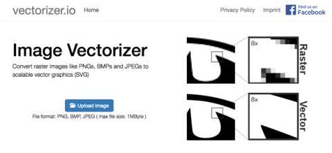 Como vectorizar imágenes online