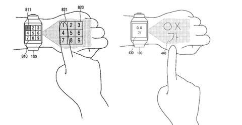 samsung patente smartwatch
