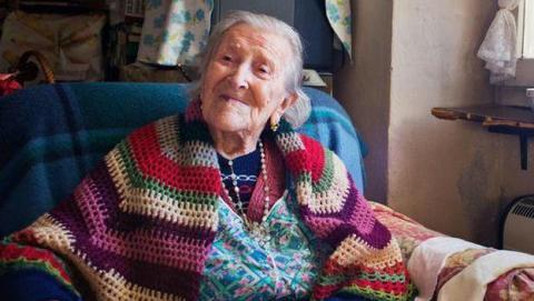 Emma Morano, la última persona con vida nacida en el siglo XIX