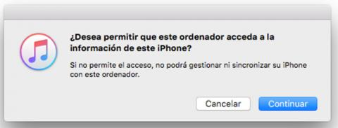itunes problemas conexión iphone