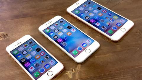 Tres modelos de iPhone 7