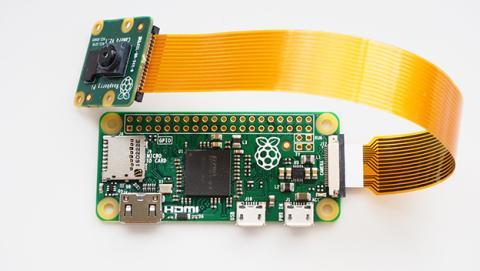 Raspberry Pi Zero con cámara