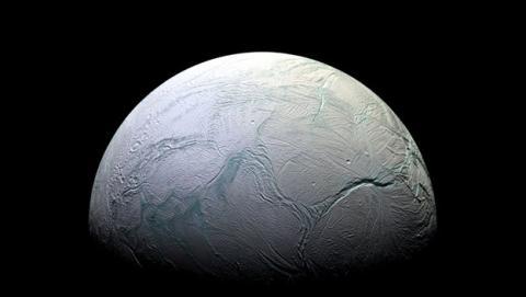 Encélado, luna de Saturno