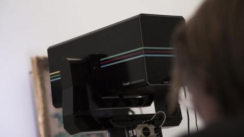 Google desarrolla una cámara para digitalizar obras de arte