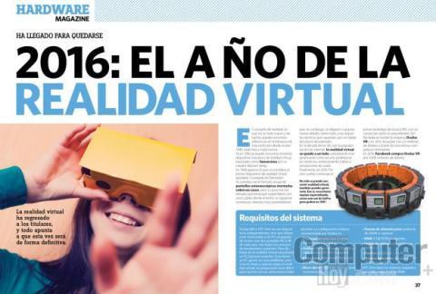 2016: el año de la realidad virtual